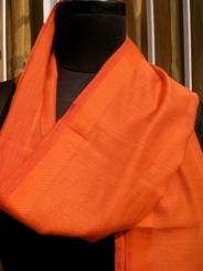 Rust Brown(50X50 Cotton & Silk)