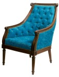 Wooden Trim arm chair, Chizzle