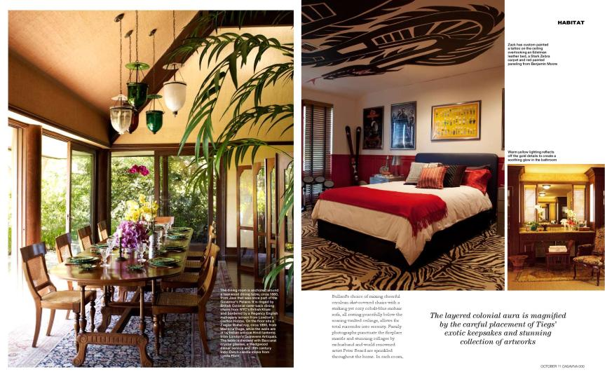 Dream Home Cheryl Tiegs Bali Inspired Sanctuary By Martyn