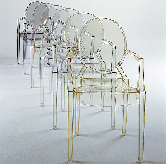 Poltrona Kartell Louis Ghost.Kartell Style City