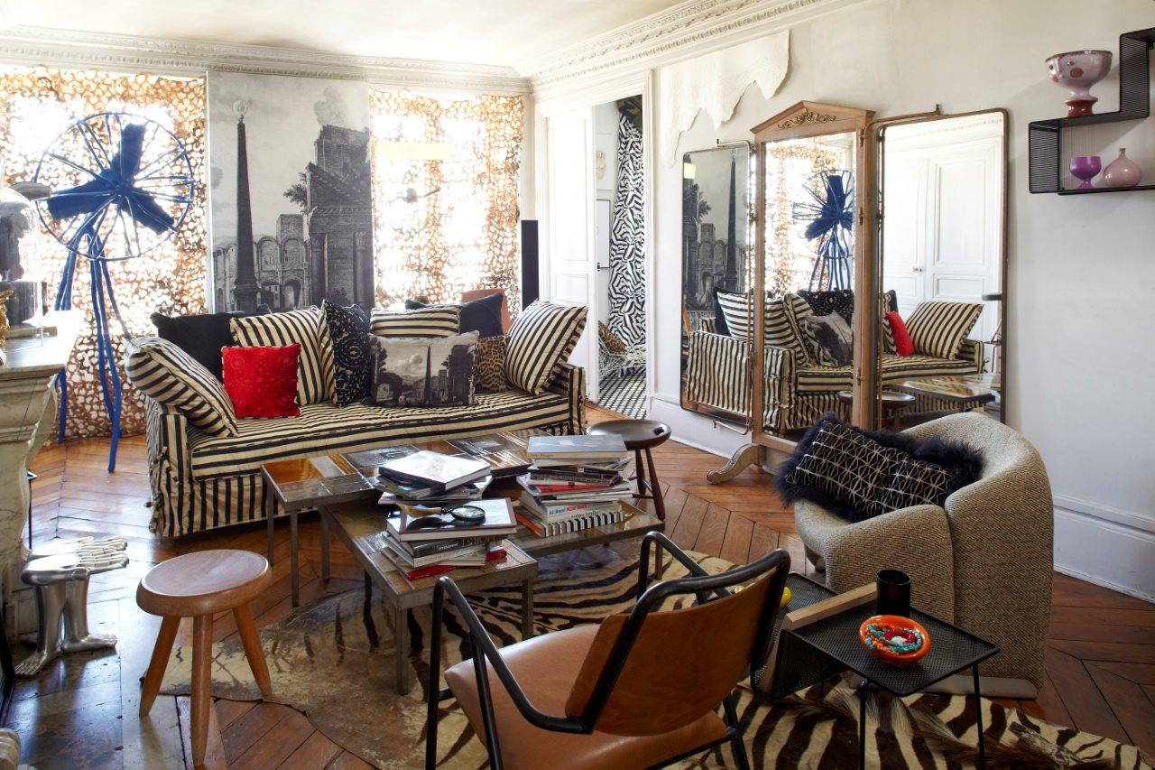 luxus hotel interieur paris angelo cappelini, apartment – style city, Design ideen