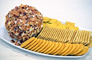 Cheese balls rolled in chopped Pecans. www.stylecity.in