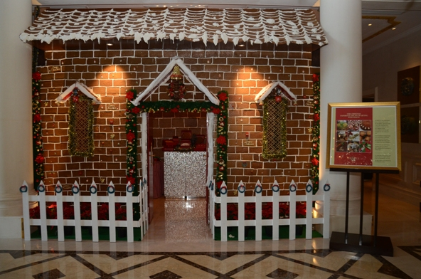 Gingerbread House at The Leela Palace New Delhi.www.stylecity.in