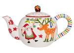 Santa and helper Tea Pot, Marks and Spencer.
