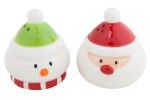 Santa and Snowman Salt and Pepper shakers, British Heart Foundation