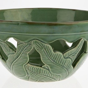 Ceramic bowl, Bouganvilla