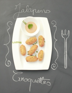 Cafe Ludus - Panko Jalapeno Croquette. www.stylecity.in