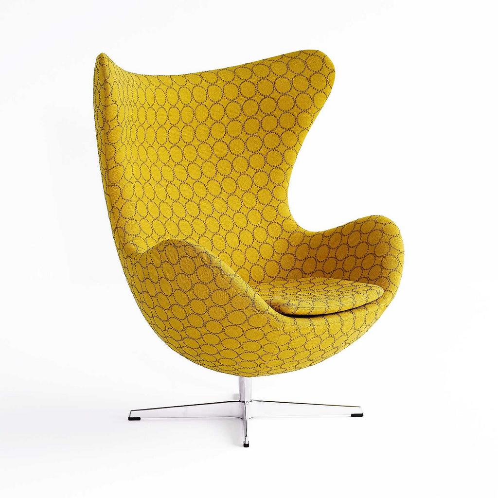 arne jacobsen egg chair style city. Black Bedroom Furniture Sets. Home Design Ideas
