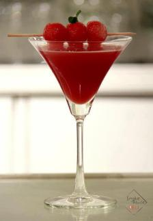 Smoke House Deli, Khan Market- _Watermelon Martini'. www.stylecity.in