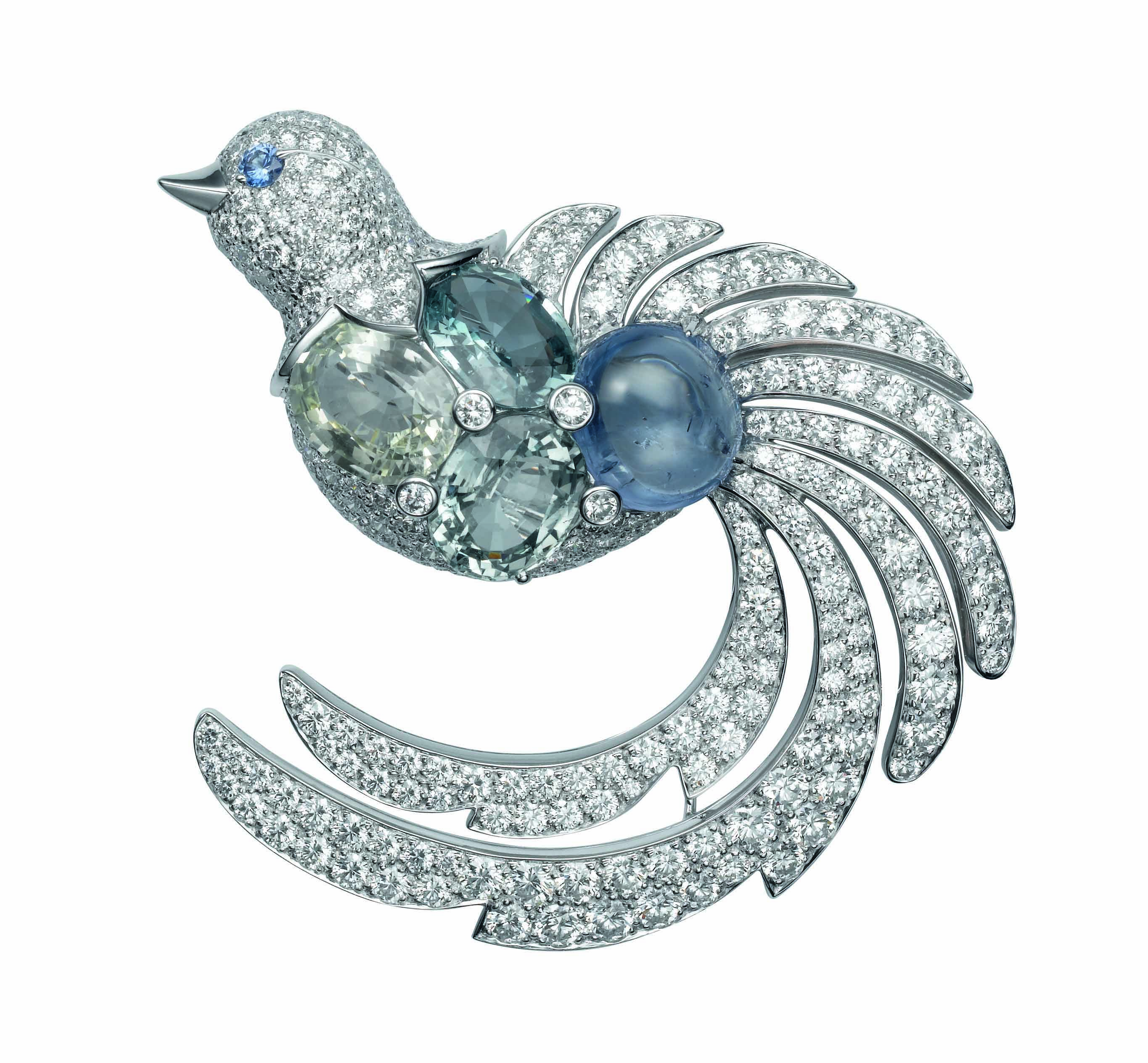 paris and platinum karat lazuli brooches by circa diamond brooch deco onyx lapis gold art ruby cartier