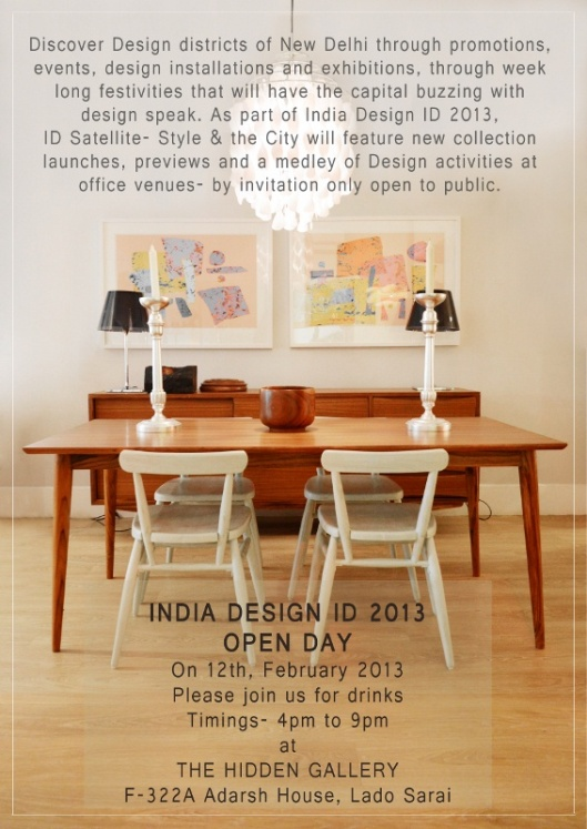 India Design ID 2013- Open Day
