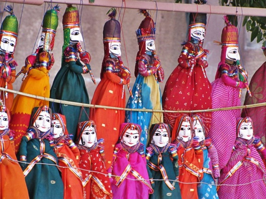 Puppets at Silvassa village, Jodhpur www.stylecity.in