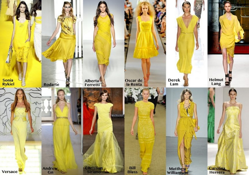 Fashion to Decor- Hello Yellow