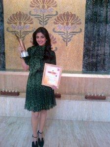 Shilpa Shetty at NDTV Lifestyle Awards