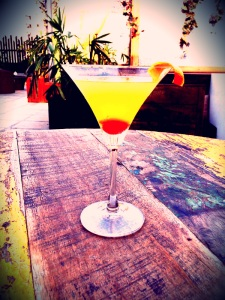 Cafe Ludus - Healthy Honeycomb Magarita