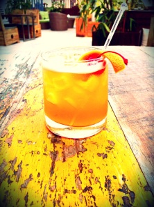 Cafe Ludus - Smoked Whiskey Sour