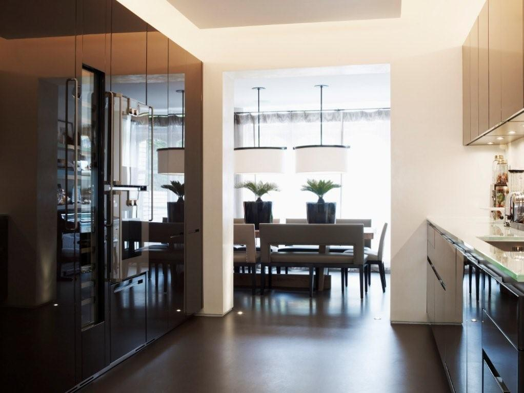 Dream home kelly hoppen s london home style city - Interior design kitchen dining room ...