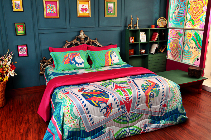 pop art for your beddings style city