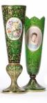Bohemion glass vase-Interarts