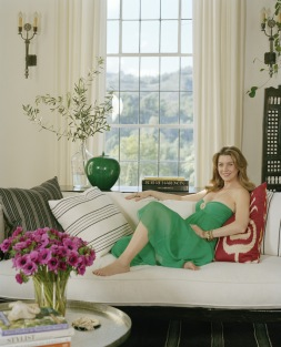Ellen Pompeo photographed by Firooz Zahedi.PR approval required
