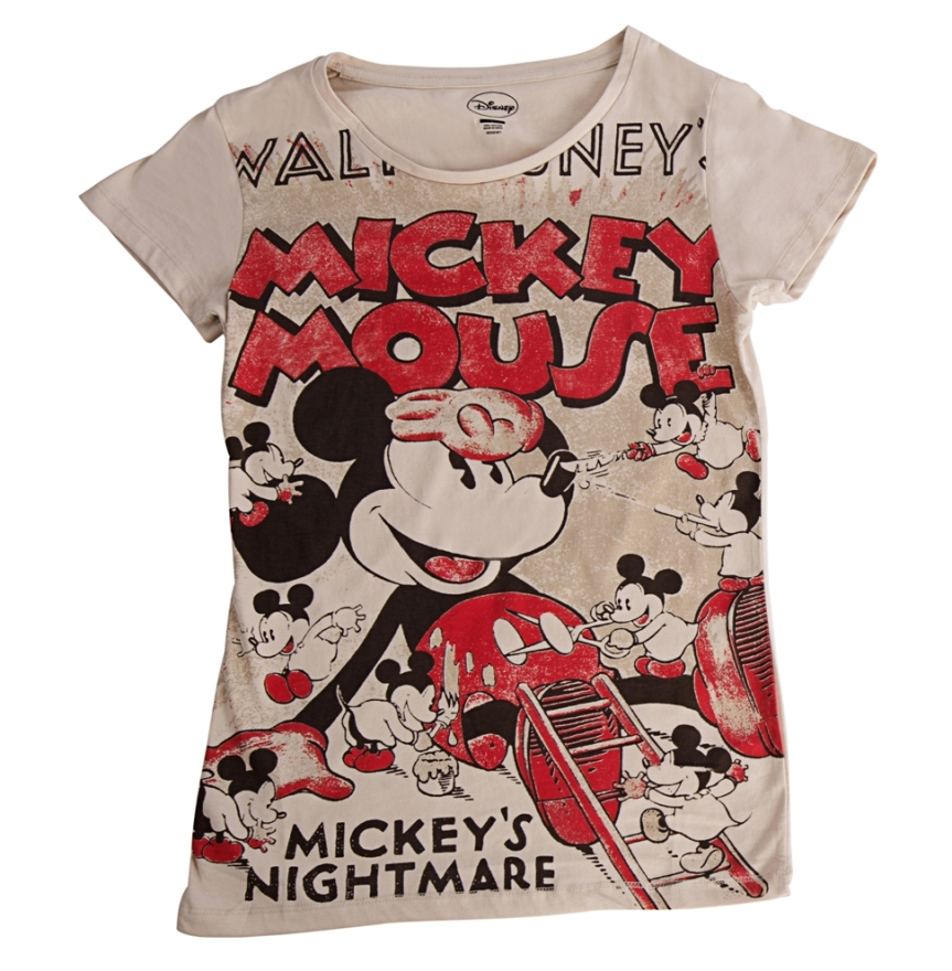 Disney's Mickey Inspired Women's T-shirt