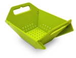 Folding Green Colander_www.houseproud.in