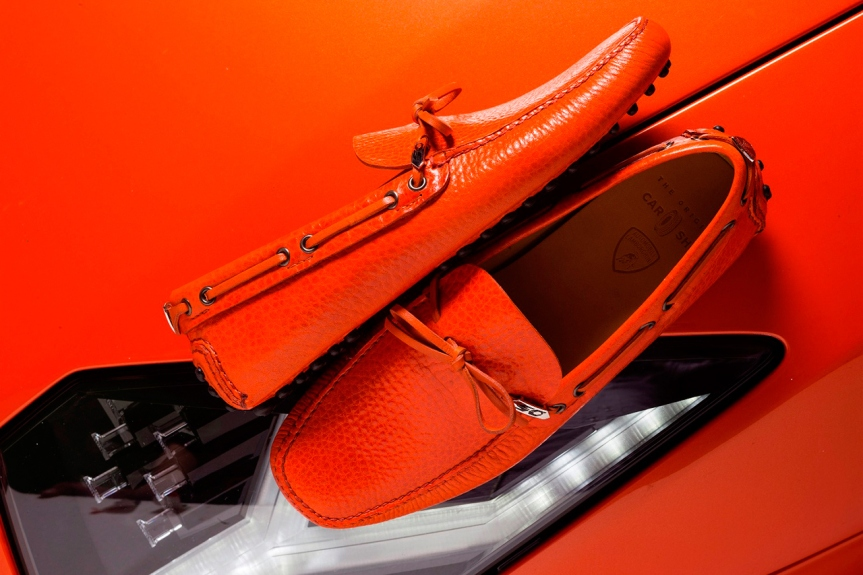 lamborghini and prada-moccasin-car-shoe