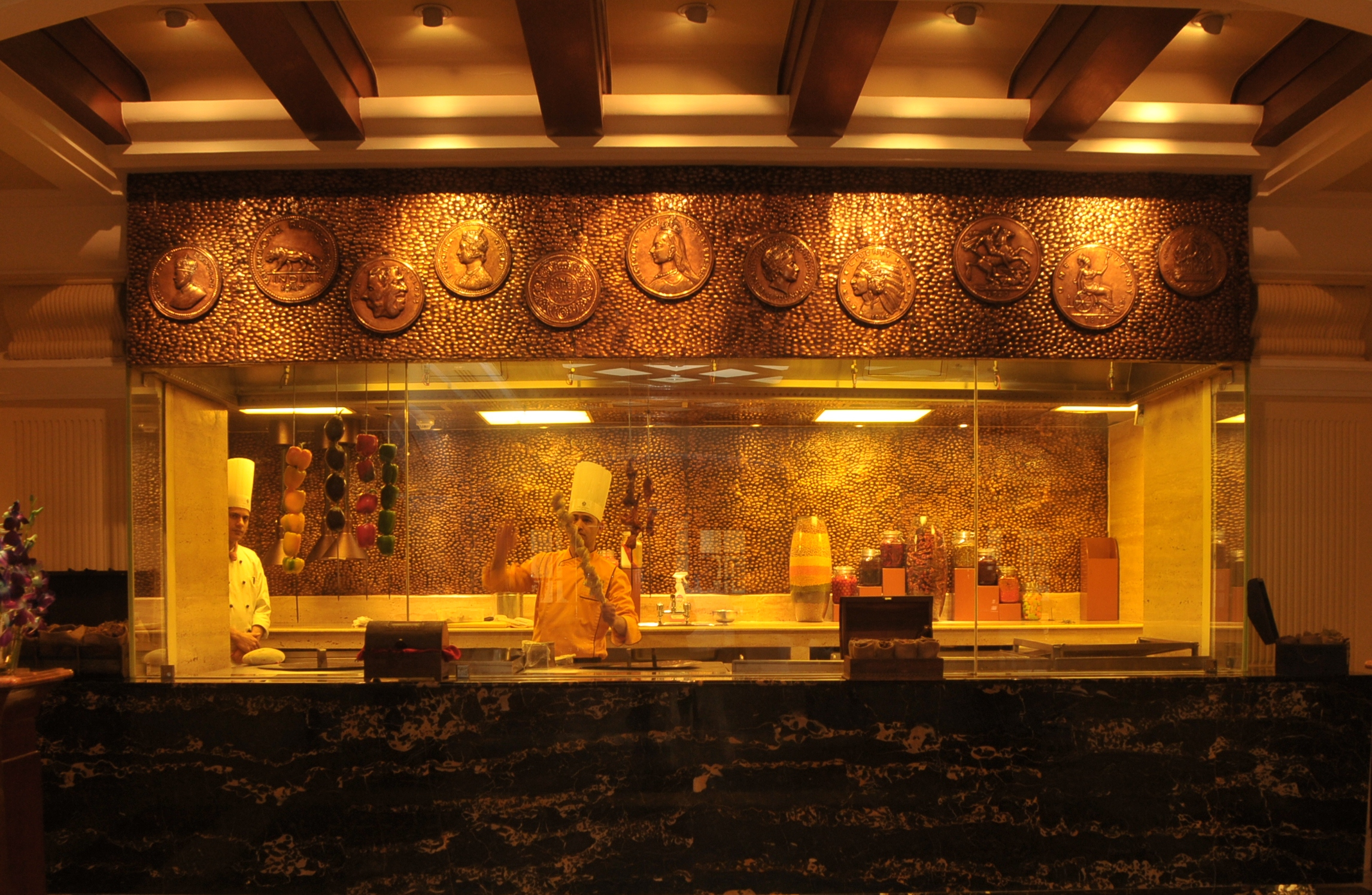 Kitchen design for indian restaurant - Live Kitchen At Daniell S Tavern The Imperial