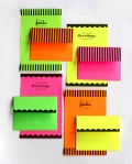 Printable neon Stationary, www.howaboutorange.blogspot.in
