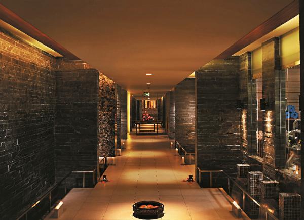 Spa Corridor,Spa at Shangri-La, New Delhi