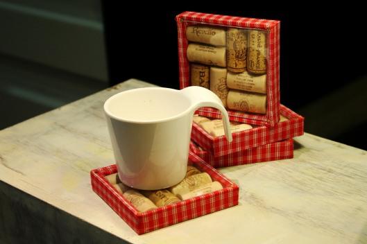Wine Corks Coasters, Chromakey Designs, www.stylecity.in