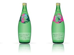 Andy Warhol and perrier