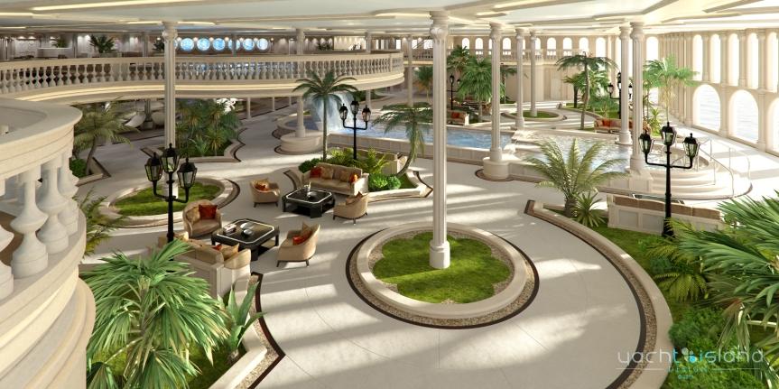 Monaco oasis, yacht island design, www.stylecity.in