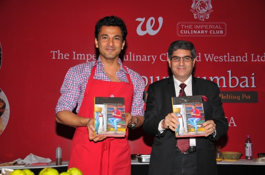 Michelin star chef Vikas Khanna and Mr. Vijay Wanchoo- Sr. Executive VP and GM The Imperial, www.stylecity.in