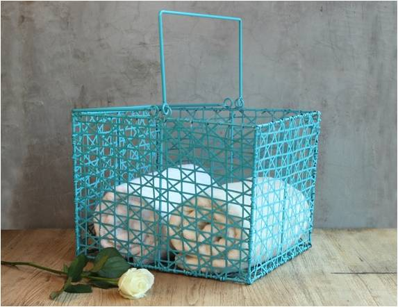 Turquoise Laundry Basket, The house of Tales and The home label pop up shop