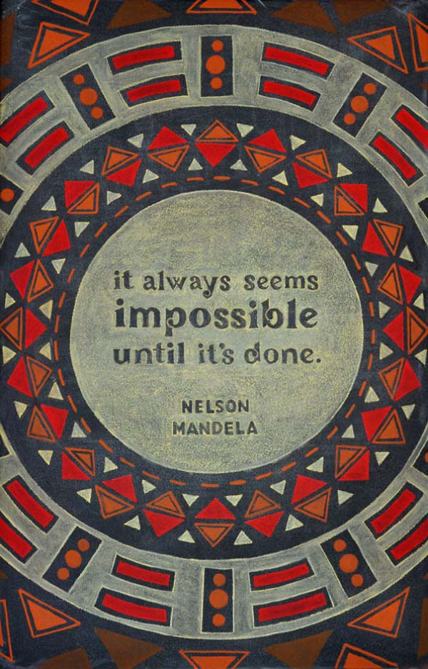 Nelson Mandela quote, Dangerdust, www.stylecity.in