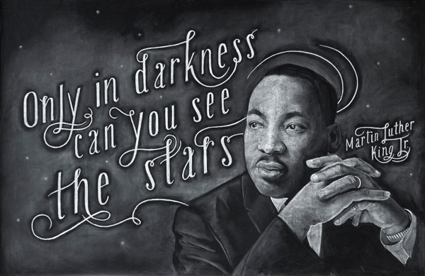 Martin Luther King Jr quote, Dangerdust, www.stylecity.in