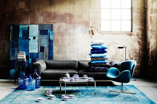 Indigo Blue Industrial look, www.stylecity.in