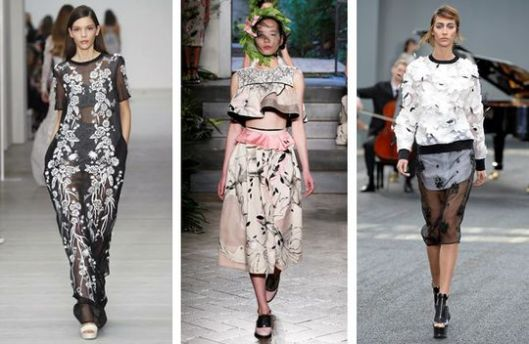 3D flowers, Matthew Williamson, Antonio Marras; Erdem