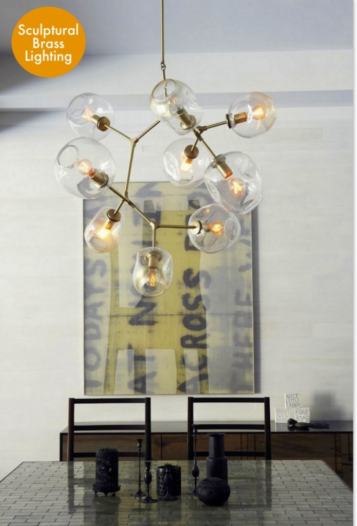 Branching Bubble light, Lindsey Adelmen lighting