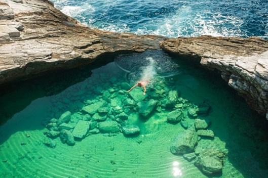 Giola-Lagoon, Greece