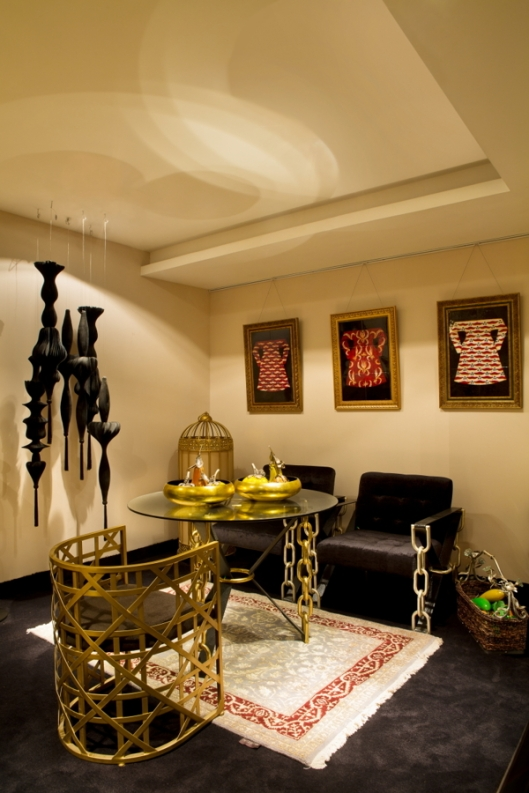 Brass Chairs by J J Valaya, Home of the Traveller