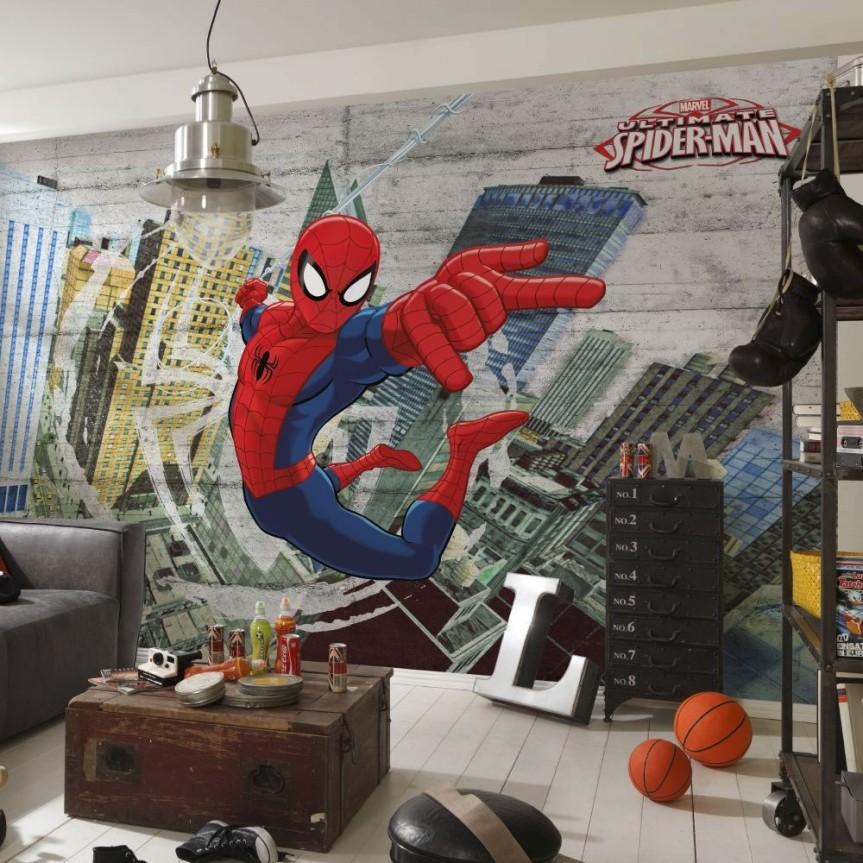 Marvel Wall mural, Komars