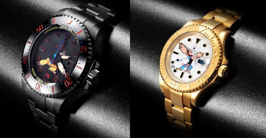 Bamford Presents Popeye, Rolex