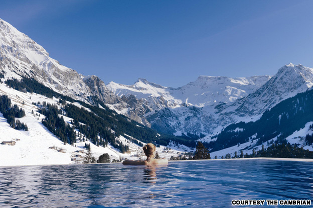 The_Cambrian outdoor pool, Switzerland