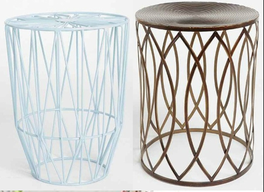 Plum and Bow wire stool, Urban Outfitters, www.stylecity.in