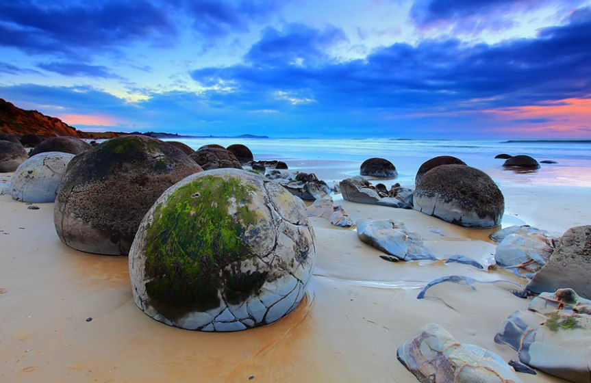 dragon egg beach, New Zeland, www.stylecity.in