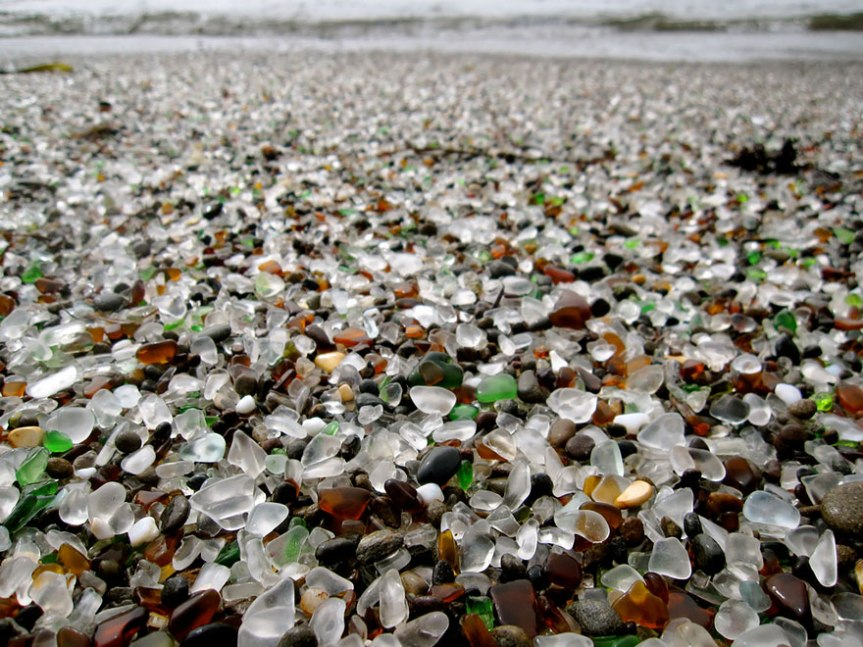 glass beach california, www.stylecity.in