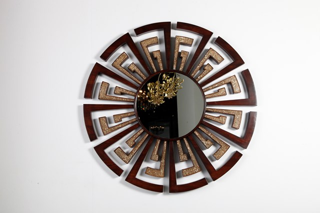 Swarovski Studded Mirror Frame