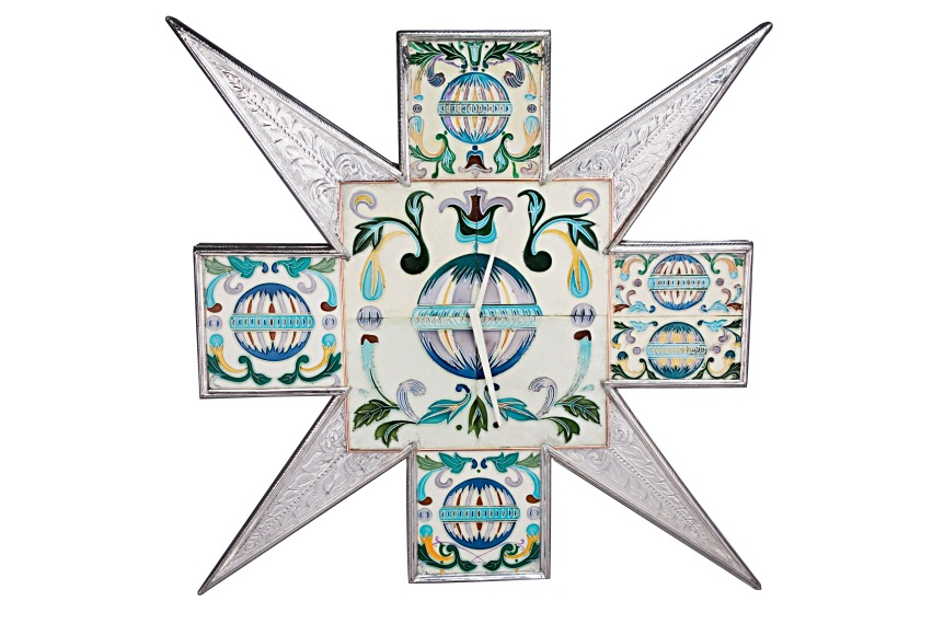 Frazer and Haws - Wall Art Timepiece Starburst